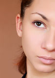 Face portrait Royalty Free Stock Photography