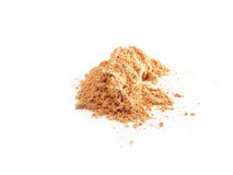 Face Powder. Isolated batch of face powder Stock Photo
