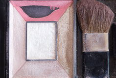 Face powder box Stock Image