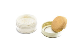 Face powder Royalty Free Stock Image