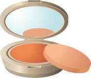 Face Powder, Orange, Cosmetics, Peach royalty free stock image