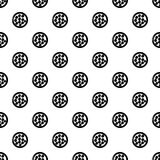Face powder pattern vector seamless. Repeating for any web design Royalty Free Stock Photo