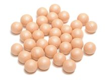 Face Powder Pearls (Ball-Powder) Royalty Free Stock Photos
