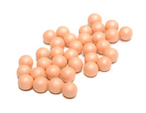 Face Powder Pearls (Ball-Powder) Stock Photography