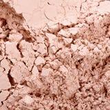 Face powder texture Stock Photos