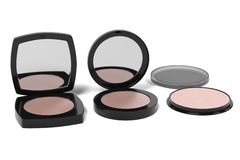 Face powders Royalty Free Stock Photography