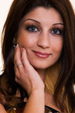 Face of pretty woman Royalty Free Stock Photography