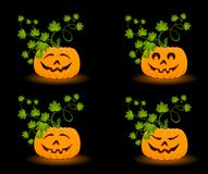 face of pumpkin Stock Photo