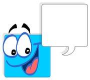 Face quadrada Imagens de Stock