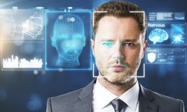Free Face Recognition Concept Royalty Free Stock Image - 109155316