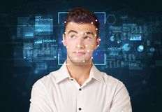 Face Recognition System stock images