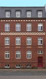 Face Of A Red Bricked House Royalty Free Stock Photos