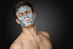 Face retreat. Stock Photo