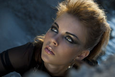 Free Face Rock Style Girl Royalty Free Stock Photos - 15723528