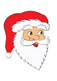Face santa claus Stock Images