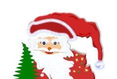Face Santa  Claus Stock Images