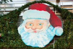 Face of Santa Claus.Merry Christmas stock image