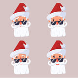 Face santa claus royalty free stock photo