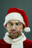 Face of Santa Stock Image