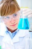 Face of science Royalty Free Stock Image