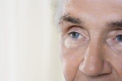 Face Of Senior Man Royalty Free Stock Photo