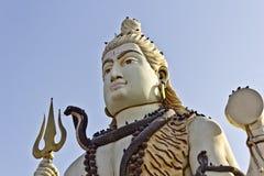 Face of Shiva Royalty Free Stock Image