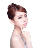 Face Skin Problem Stock Images