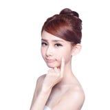 Face Skin Problem Royalty Free Stock Photos