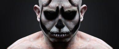 Face skull portrait Stock Photo