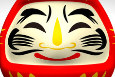 Face Of Smile Daruma Doll Royalty Free Stock Photography