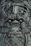 Face of Stone dragon sculpture Stock Photography