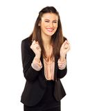 The Face of Success Royalty Free Stock Images