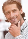 Face of a successful person Stock Image