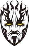 Face Tattooing ilustração royalty free