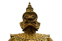 Face of Thai Giant Royalty Free Stock Image