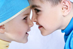 Face to face. Royalty Free Stock Images