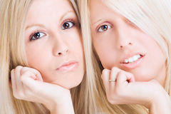 Face to face Royalty Free Stock Image