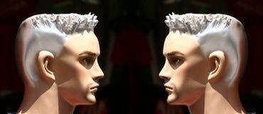 Face to face Stock Photos