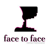 Face to Face With camera Stock Photo