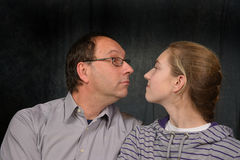 Face to face Royalty Free Stock Photography