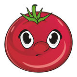Face of tomato Royalty Free Stock Photos