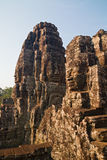 Face Towers of The Bayon, Angkor Thom, Cambodia Royalty Free Stock Images