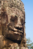 Face Towers of The Bayon, Angkor Thom, Cambodia Royalty Free Stock Photos