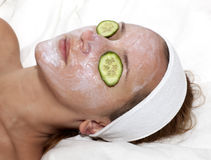 Face treatment Stock Image