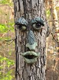 Face tree Stock Images