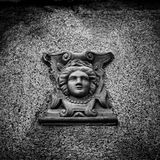 Face In The Wall Royalty Free Stock Images