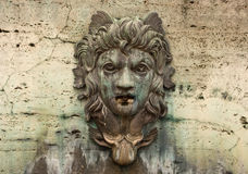 Face on a Water Fountain Stock Images