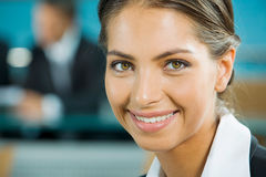 Face of woman Stock Image