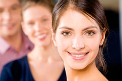 Face of  woman Stock Photography
