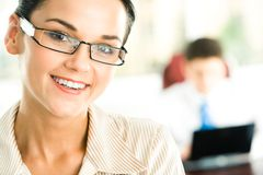 Face of woman Stock Images